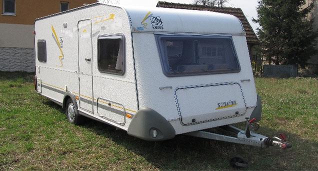 OK Karavany - karavan- Knaus 450 FU