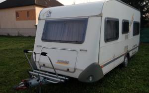 OK karavany - obytný príves Knaus 450 FU