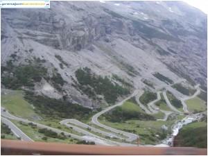V sedle Passo Stelvio-Stilfserjoch