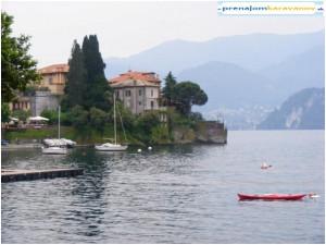jazero  Lago di Como