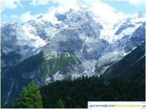 Stúpanie na  Passo Stelvio-Stilfserjoch