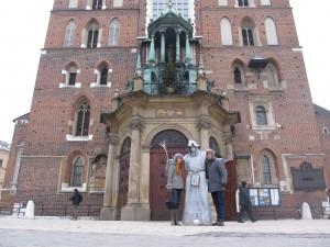fotka pod kostolom Panny Márie