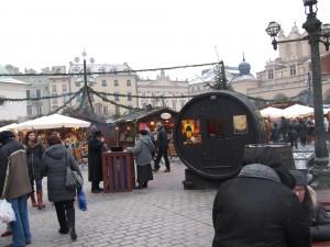 Vianočne trhy v Krakove