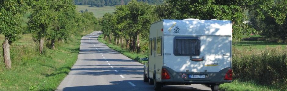 Karavan na cestách...