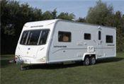 karavan s dvomi nápravami