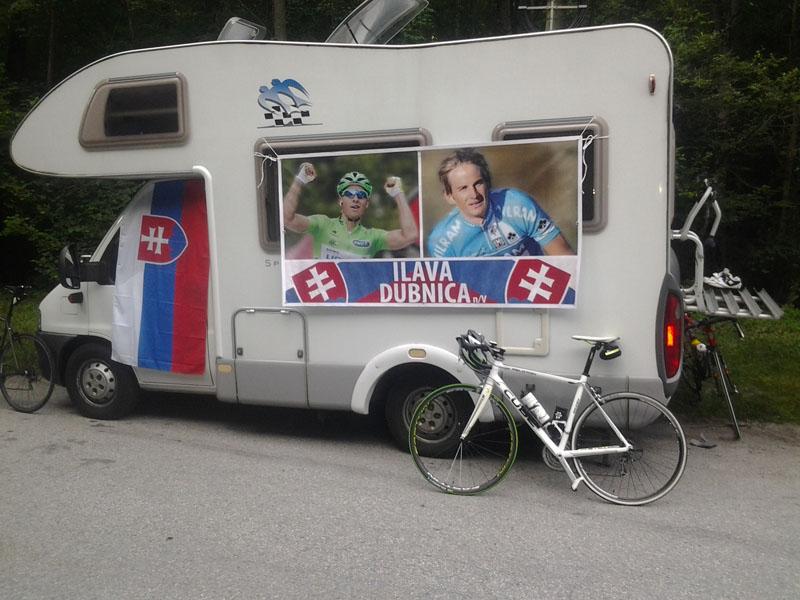 Svätyňa fanúšikov na Tour de France
