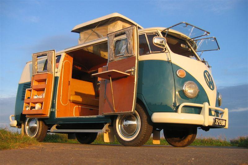 Typy autokaravanov - VW Transporter T1