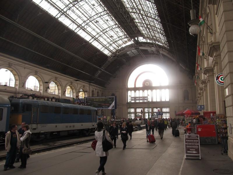 Historická budova vlakovej stanice.