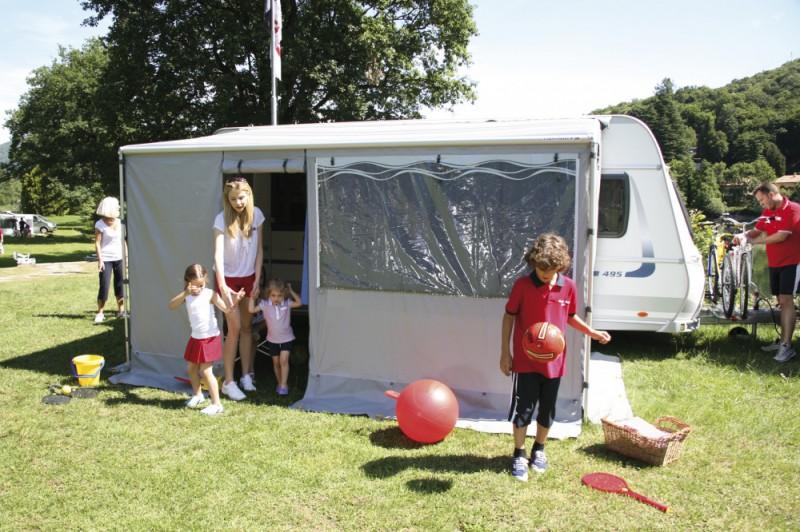 Vybavenie pre karavany