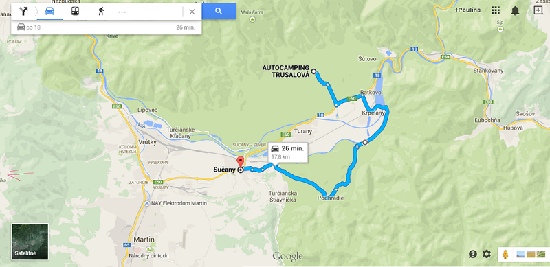 Cesta na Trusalovu