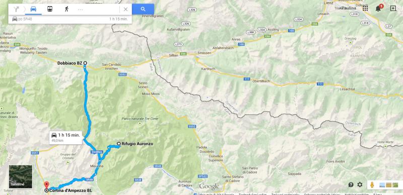 Toblach - Rifugio Auronzo- Cortina d´ Ampezzo