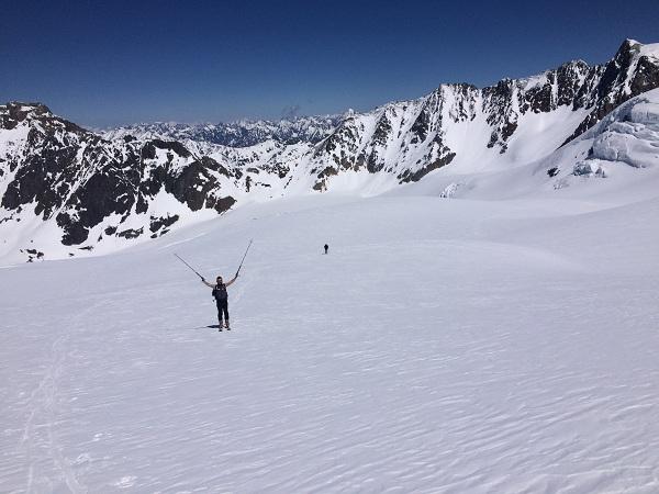 Cesta na Wildspitze