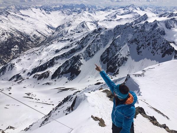 Vrcholová Wildspitze
