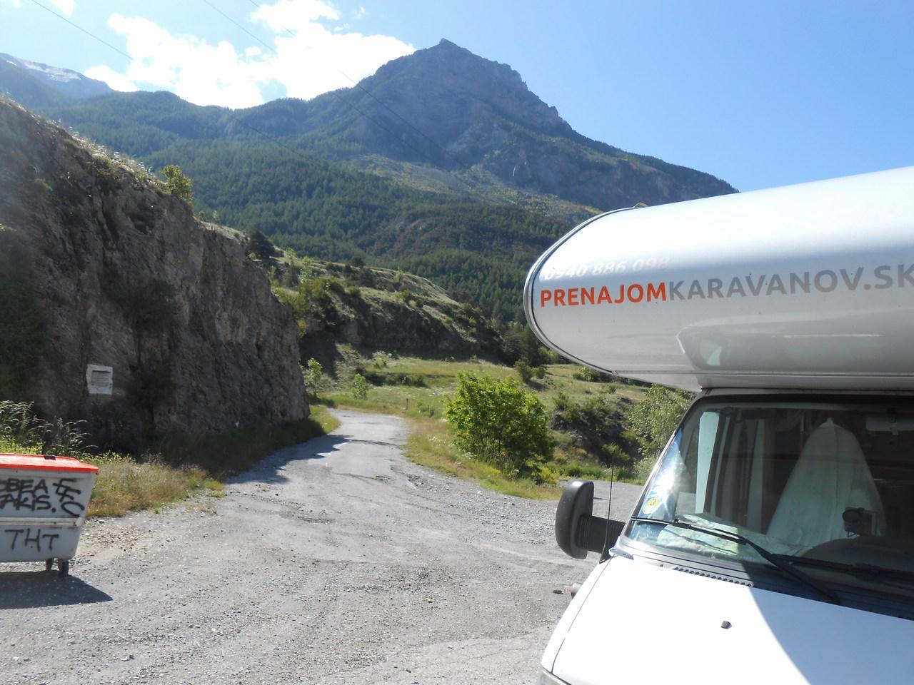 Francúske alpy s karavanom 14