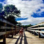 SCHORT S HOSSEGOR drevený mostík
